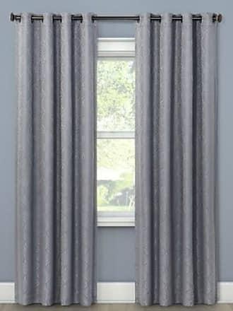 Eclipse 52x63 Howell Room Darkening Curtain Panel - Silver