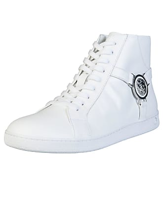 8e83250edb8 Versace Versus FSX006C High Top Leather White Trainer 7