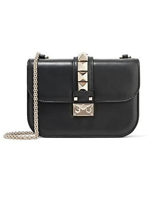 e212c970931b Valentino Valentino Garavani Lock Small Leather Shoulder Bag - Black