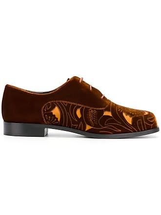 Emporio Armani Scarpe stringate con dettagli cut-out - Color Marrone 6b500238587