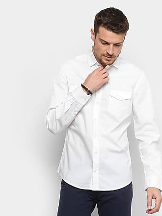 672fb8084 Colcci Camisa Colcci Slim Manga Longa 2 Bolsos Masculina - Masculino