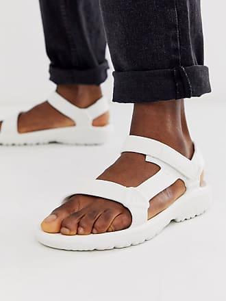 Teva hurricane drift eva sandals in white