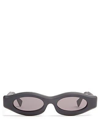 d5b19be320 Kuboraum Rectangular Frame Acetate Sunglasses - Mens - Black