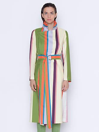 Akris Rain coat with Memphis glass print