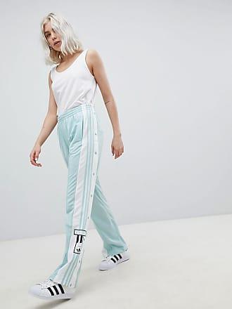 adidas Originals adicolor - Pantalon à boutons-pression - Menthe - Vert c78d2117ed06