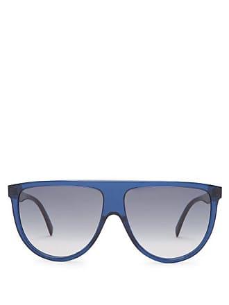 030cacfddec Celine Shadow D Frame Aviator Sunglasses - Womens - Navy