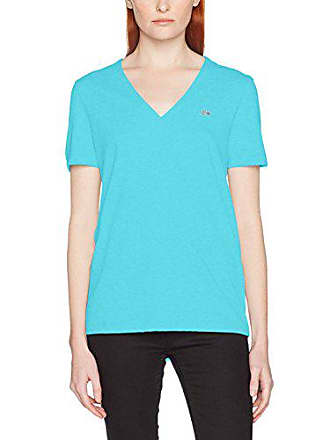 Lacoste TF8908, T-Shirt Femme, Turquoise (Atoll), (Taille Fabricant 67ee53c7b095