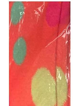 21Fashion Womens Over The Knee Socks Plain & Striped Thigh High Adults Stretchy OTK Socks Orange Polka Dot 4-6.5 (12 Pairs)