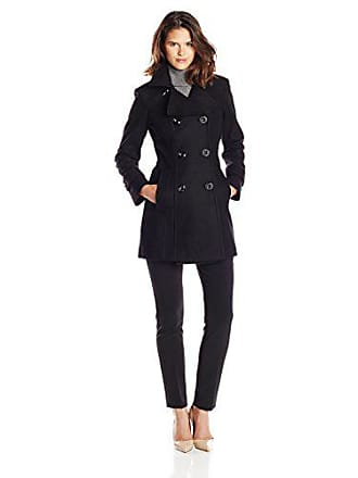 e1d2a8312 Anne Klein Womens Classic Double Breasted Wool Coat