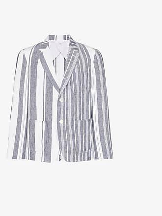 Thom Browne single-breasted striped blazer
