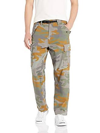 6079340d Levi's Mens Military Banded Carrier Cargo Pant, Grey Woodland camo/Stretch  Cotton Ripstop,
