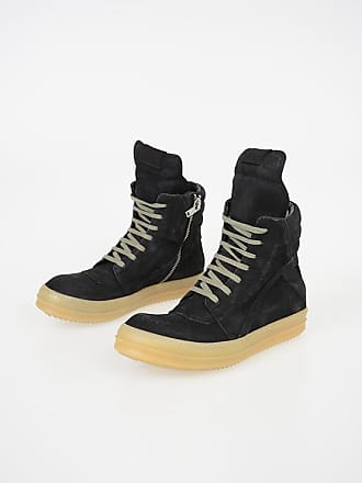 Rick Owens Leather GEOBASKET Sneakers size 40