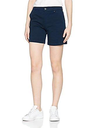 Tommy Jeans Damen Essential Chino Skinny Shorts Blau (Black Iris 002) W31  (Herstellergröße ffd335c79b