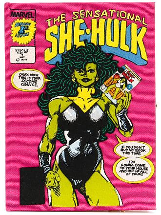 Olympia Le-Tan Clutch The Sensational She-Hulk - Rosa