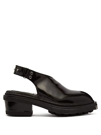 Eytys Carmen Patent Leather Slingback Heels - Womens - Black
