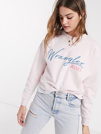 Wrangler Felpa rosa con logo