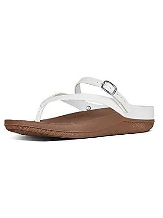 da235187a441 FitFlop Damen Flip Tm Leather Sandal Zehentrenner