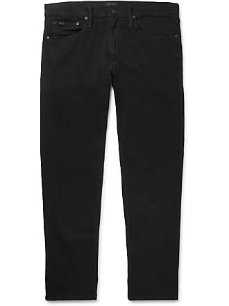 Polo Ralph Lauren Sullivan Slim-fit Stretch-denim Jeans - Black
