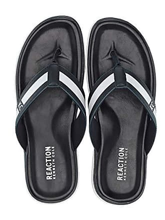Kenneth Cole Reaction Beach Sandal (Navy) Mens Shoes