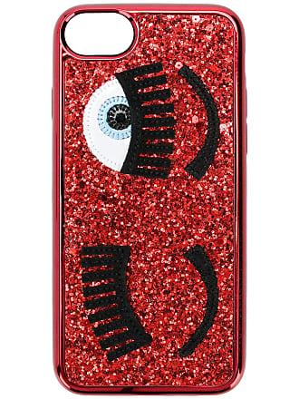Chiara Ferragni Capa para iPhone 6/7/8 Blinking Eyes - Vermelho