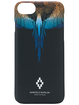 Marcelo Burlon Capa Wings para iPhone X - Preto