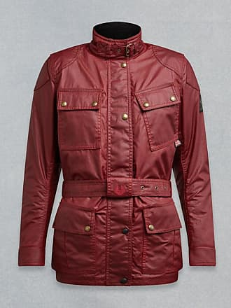 935ccdb19b Belstaff Belstaff Classic Tourist Trophy 4-Pocket Motorcycle Jacket Red UK  12