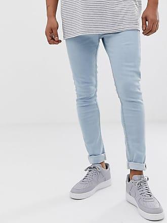 Brave Soul Enge Jeans in Blau