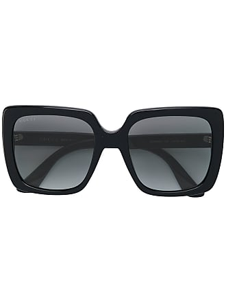 f4e14875d54 Gucci mass large square sunglasses - Black