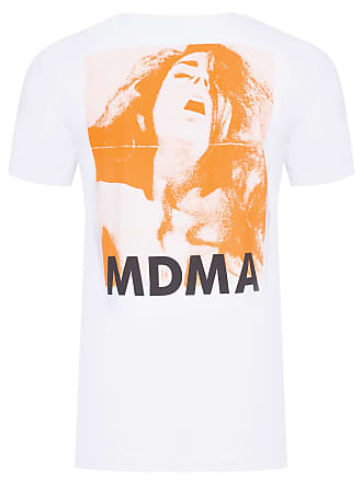 PURPLE YELLOW CAMISETA MASCULINA MDMA - OFF WHITE