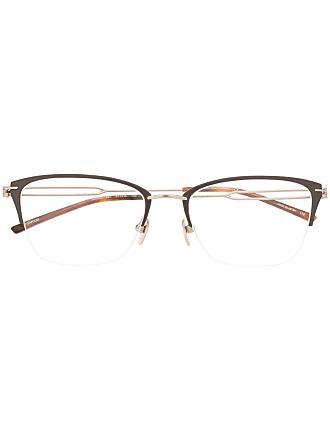 Calvin Klein rectangular glasses frames - Dourado