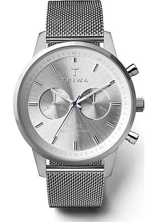 Triwa Stirling Nevil Chronograph Watch 2.0 | Steel Mesh