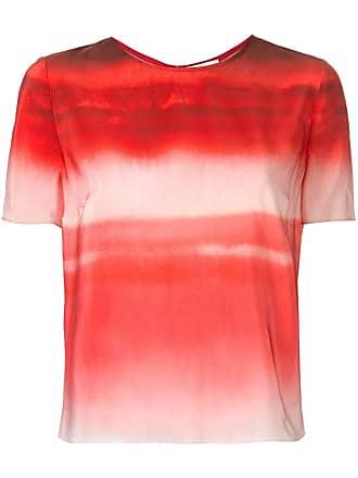 Ingie Paris gradient effect blouse - Vermelho