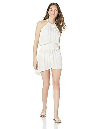 La Blanca Womens Smocked Waist Sleeveless Dress, White // Glam Getaway, Extra Small