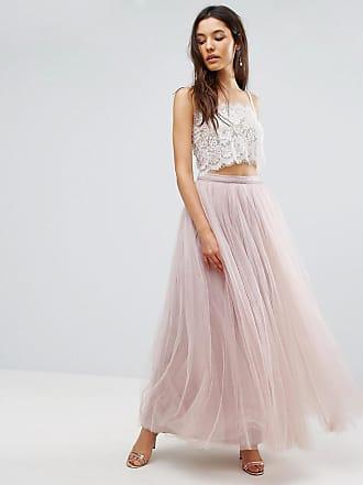 e7e0970f65a8b Little Mistress Maxi Tulle Prom Skirt - Pink
