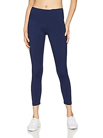c98338fd71497 Starter Womens 24 Cropped Performance Workout Legging, Amazon Exclusive,  Team Navy, Extra Large