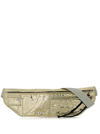 Rick Owens Pochete metalizada - Dourado