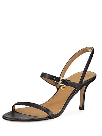 60dce8db3 Delivery  free. Tory Burch Penelope Embossed Leather Slingback Sandals