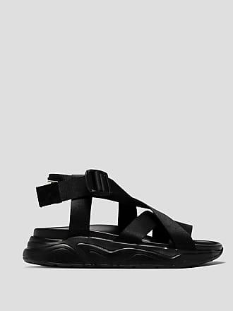 Msgm crossed lacing sandals