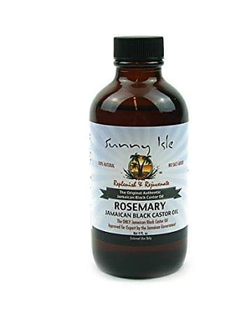 Sunny Isle Jamaican castor oil, rosemary scent, 4 oz