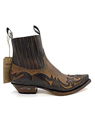 5f4f4ea3502c3b Sendra Sendra Stiefel Western Stiefelette Cowboystiefel Biker Boots inkl.  Orig. Sendra Stiefelknecht und Schlüsselanhänger