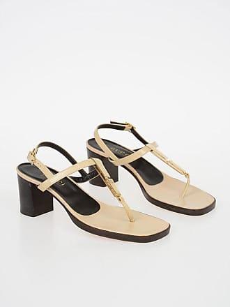 Gucci 6cm Leather Sandal size 38,5