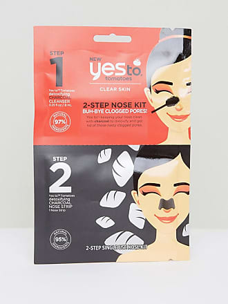 Yes To Yes To Tomato Charcoal 2-Step Nose Strip Kit-No Colour