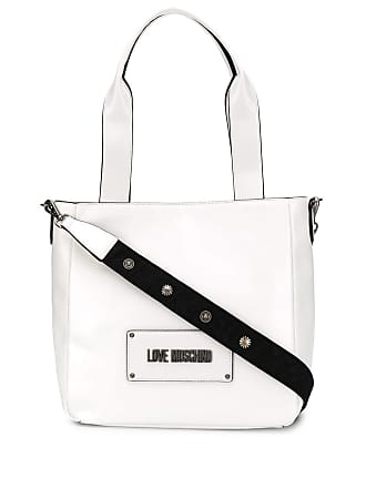 Love Moschino Bolsa tote com logo - Branco