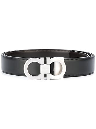 Salvatore Ferragamo interchangeable Gancio belt - Black