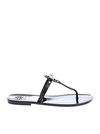 976ca94c53b Tory Burch Mini Miller thong sandals in black
