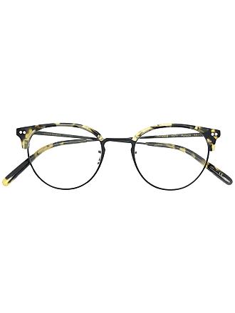 Oliver Peoples Armação de óculos Pollack - Marrom
