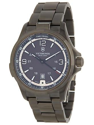 Victorinox by Swiss Army Mens Nightvision Bracelet Watch, 42mm