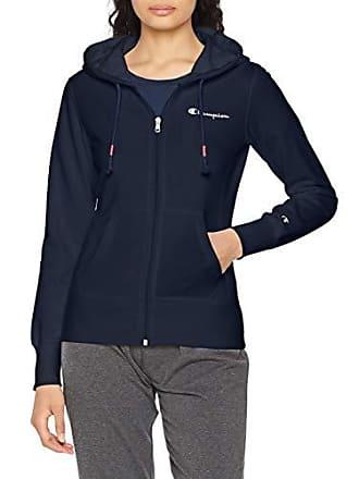 7fe1eb89b1b5fc Champion Hooded Full Zip Sweatshirt-American Classics Felpa, Blu (Bli Bleu  Bs503)