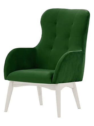 SLF24 Hollis Wingback Chair-Velluto 10-white