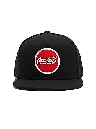 21 Men Coca-Cola Graphic Snapback Hat at Forever 21 Black/red